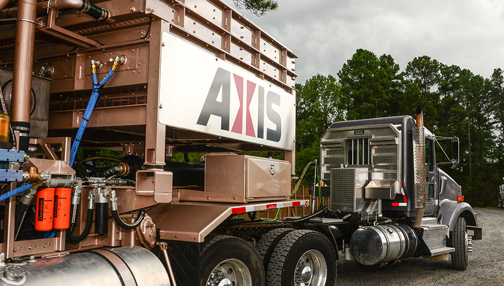 Axis Operates a State-of-the-Art Pressure Pumping Fleet