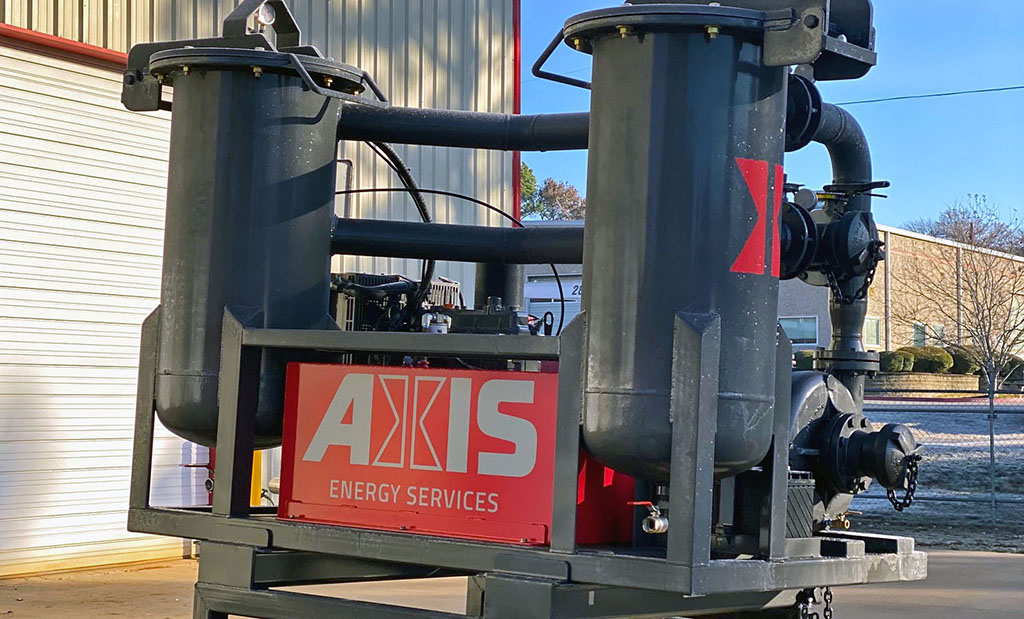 Axis Maintains State-of-the-Art Chemical Mixing Equipment